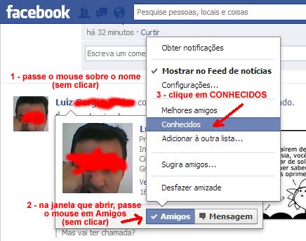 saiba como classificar amigos no Facebook
