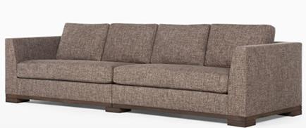 Sofá barato na internet