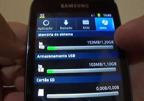 Detalhes do Samsung Galaxy Ace 2 - GT-I8160L