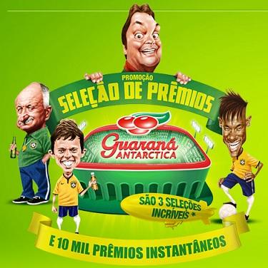 promoção guaraná do faustão 2014