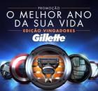 Promoção Gillete Luciano Huck 2015