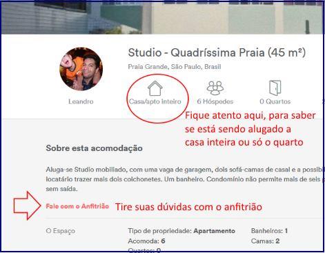 Dicas Airbnb