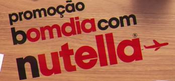 Promoção Nutella