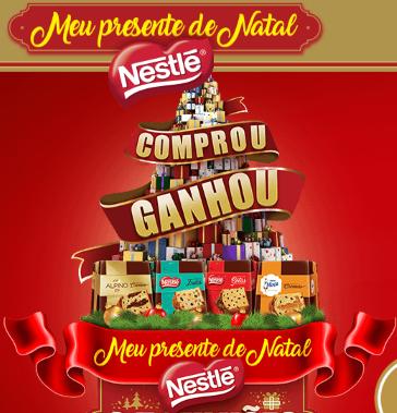 Promoção Panetone Nestlé 2017