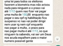 multa 150 reais titulo eleitor