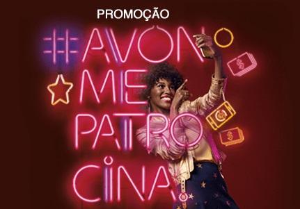 Promoção Avon Me Patrocina irá sortear 1 Iphone todos os dias e 100 mil reais por semana