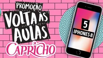 Promoção Capricho irá sortear Iphone