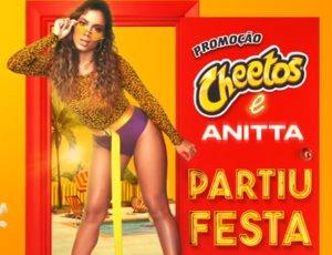 Promoção Cheetos Anitta