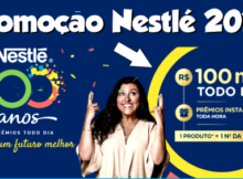 Confira a promoção Nestlé 100 anos